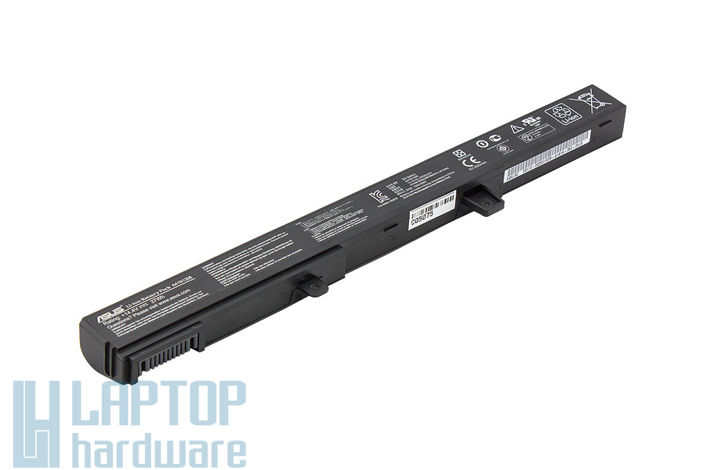 Asus X451MA, X551MA használt 70%-os 6 cellás gyári laptop akku/akkumulátor (37Wh) (0B110-00250600, A41N1308)