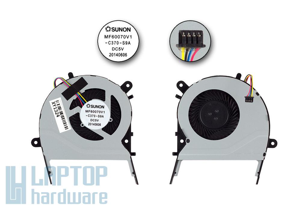 Asus X455LD, X555L gyári új laptop hűtő ventilátor (MF60070V1-C370-S9A)