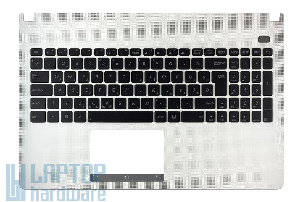 Asus X501A, X501U gyári új fehér-fekete magyar laptop billentyűzet modul, 90R-NMO2K1D80U