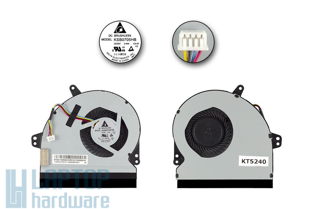 Asus X501A használt laptop hűtő ventilátor, 13GNN010P010-1