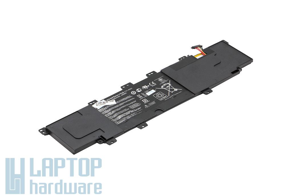 Asus X502, P500CA, VivoBook S500CA helyettesítő új 44Wh-s laptop akku/akkumulátor (0B200-00320200, C31-X502)
