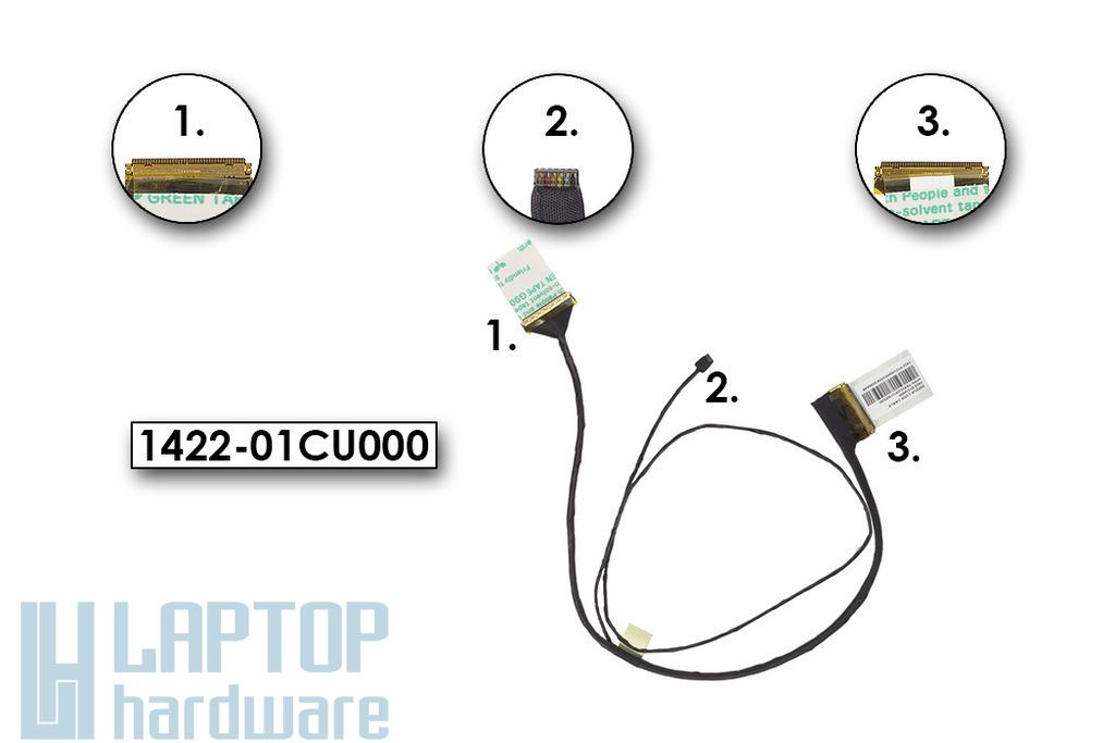 Asus X502CA használt laptop LCD kábel (1422-01CU000)