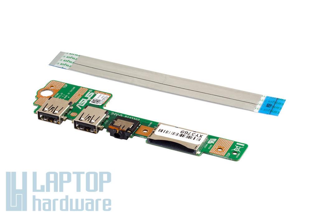 Asus X502CA notebookhoz használt USB és audio panel kábellel (60NB00I0-IO1090)
