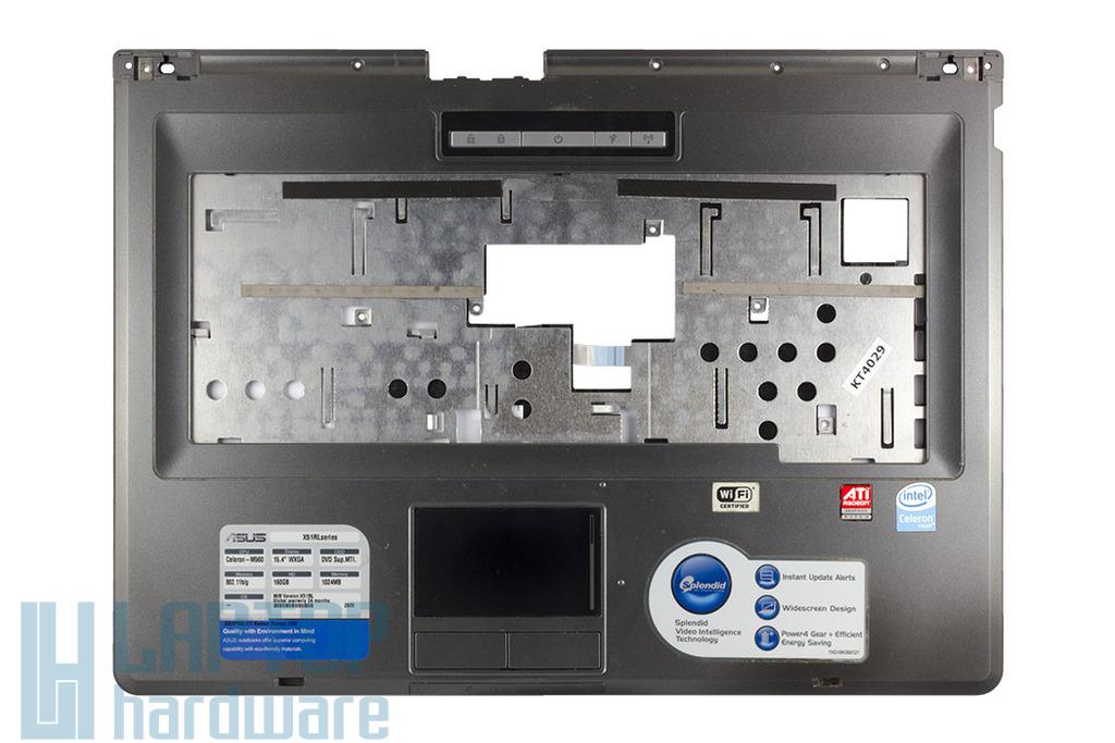 Asus X51, X51H, X51R laptophoz használt felső fedél (13GNQK1AP032)