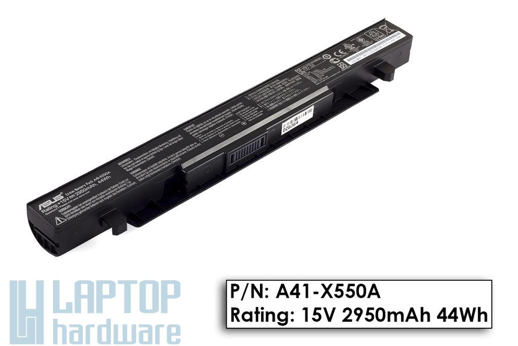 Asus X550CC gyári új 4 cellás laptop akku/akkumulátor  A41-X550, A41-X550A