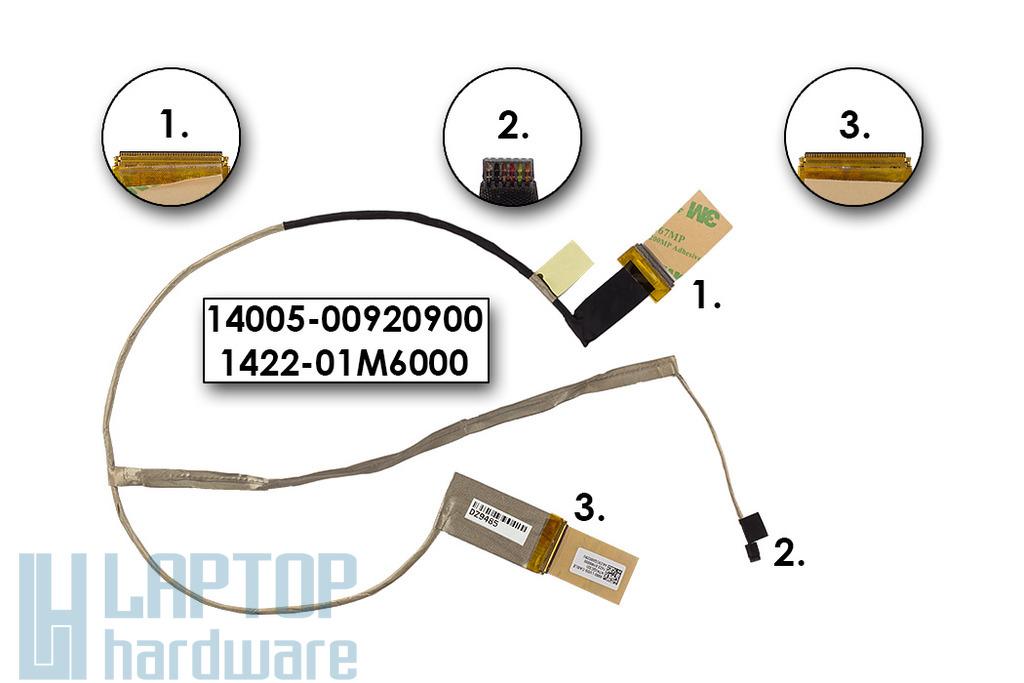 Asus X550CL, X552CL gyári új laptop LCD kábel (14005-00920900)