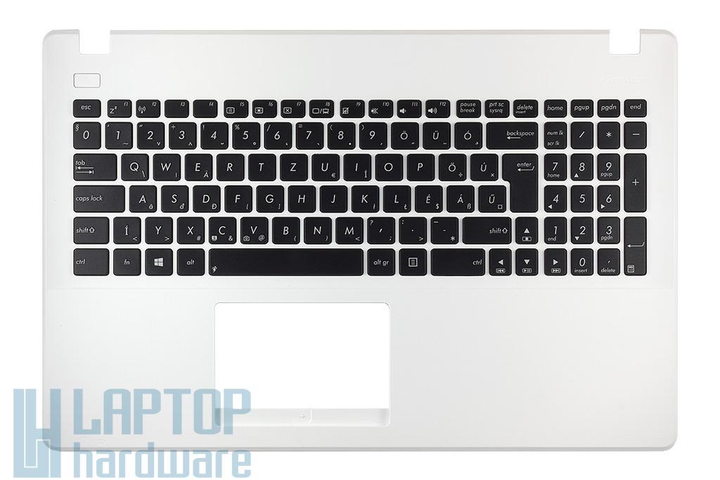 Asus X551CA gyári új magyar fehér laptop billentyűzet modul, 90NB0342-R30120