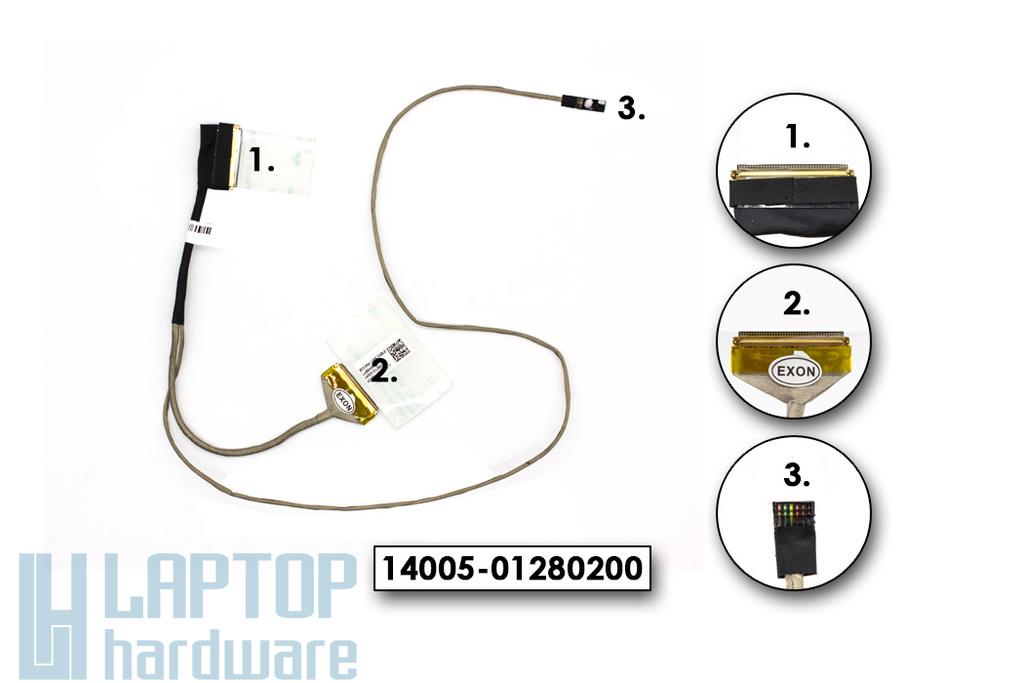 Asus X553MA gyári új laptop LCD kijelző kábel (14005-01280200)