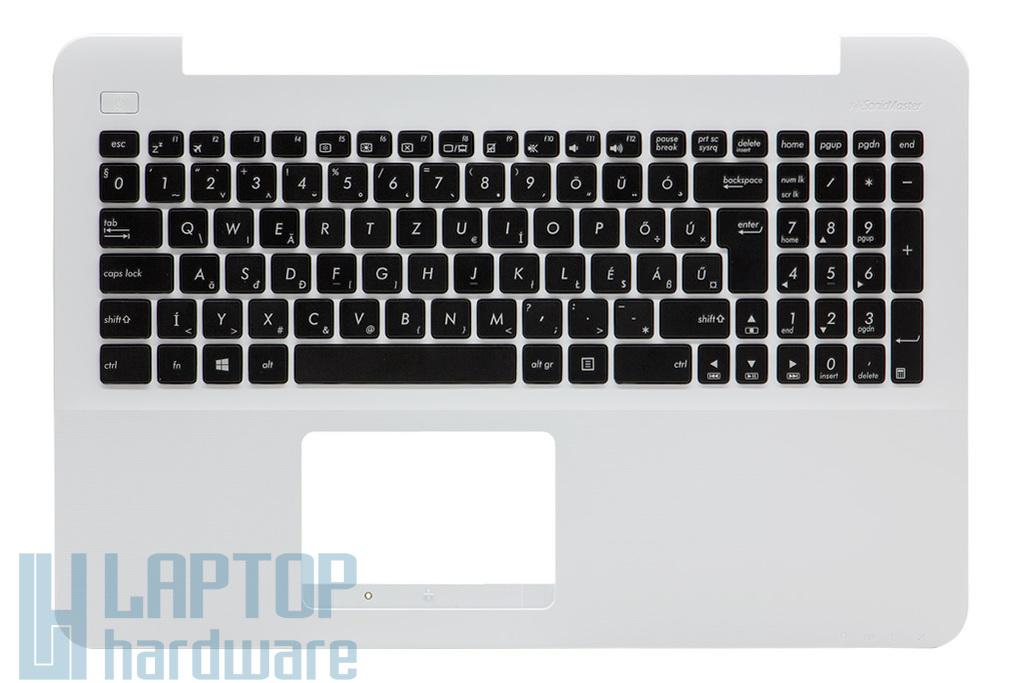 Asus X555LA, X555LD, X555LJ gyári új magyar fehér laptop billentyűzet modul (90NB0629-R31HU0)