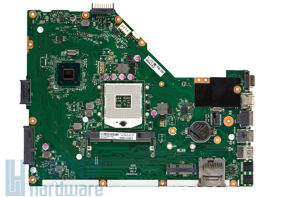 Asus X55A használt laptop alaplap (Intel PGA989) (31XJ3MB0010, 60-NBHMB1100-E05)