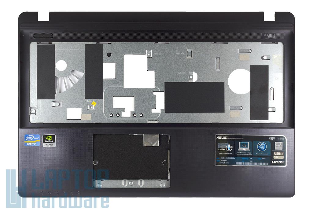 Asus X55A, X55VD, X55V  laptophoz használt szürke felső fedél, 13GNBH1AP090-1