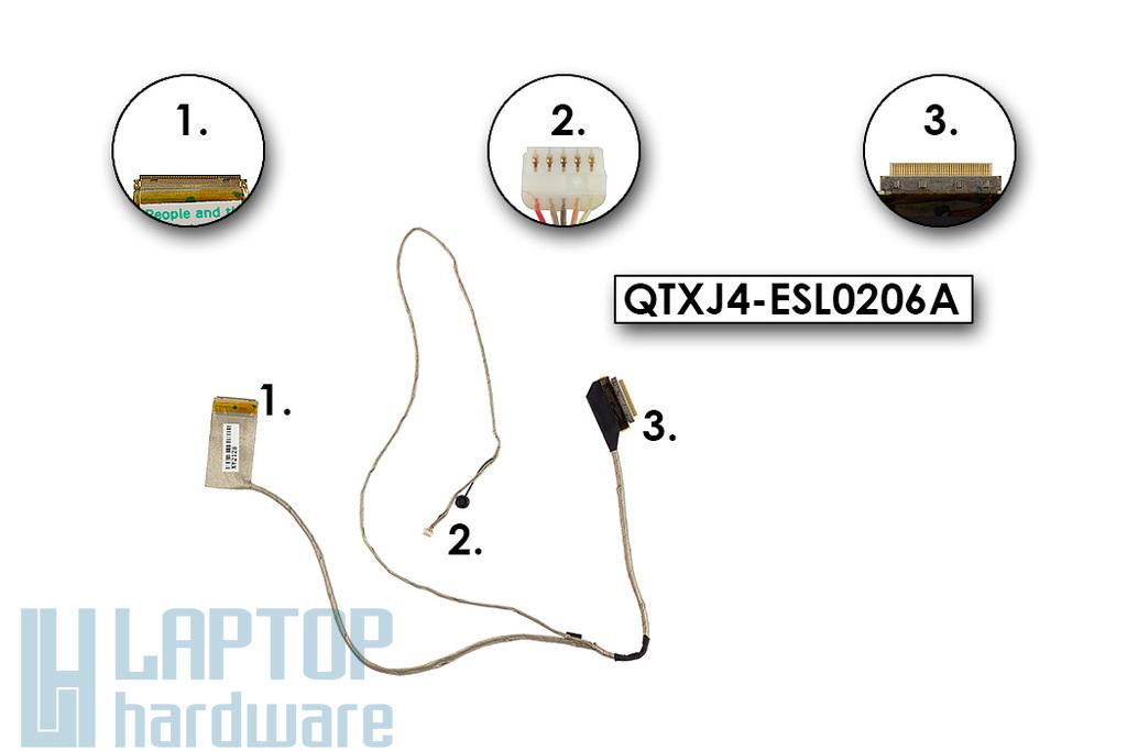 Asus X75A használt laptop LCD kábel mikrofonnal, QTXJ4-ESL0206A
