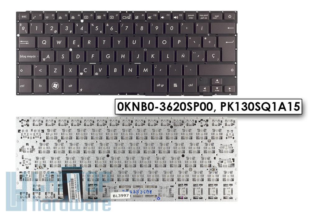 Asus ZenBook UX31A gyári új spanyol fekete laptop billentyűzet (0KNB0-3620SP00)