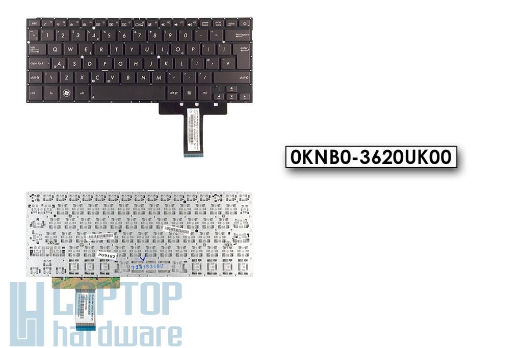 Asus ZenBook UX31A gyári új UK angol pezsgő laptop billentyűzet, 0KNB0-3620UK00