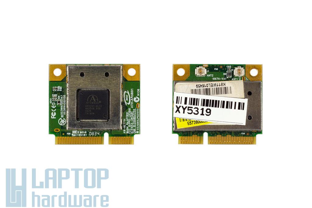 Atheros AR5B91 használt mini PCI-e laptop WiFi kártya (PPD-AR5B91)