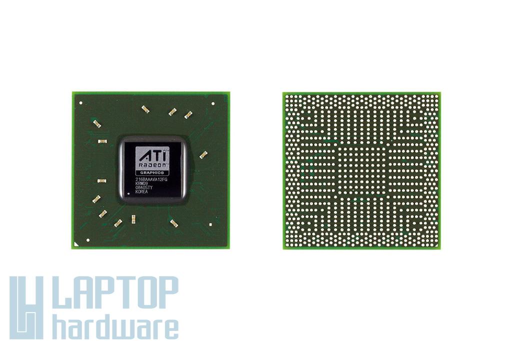 ATI GPU, BGA Video Chip 216BAAVA12FG  csere, videokártya javítás 1 év jótálással