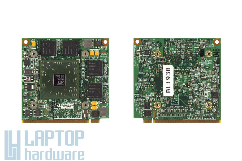 Ati Radeon X300 VGA kártya, 128MB DDR2 600MHz MXM, 48.4D301.031