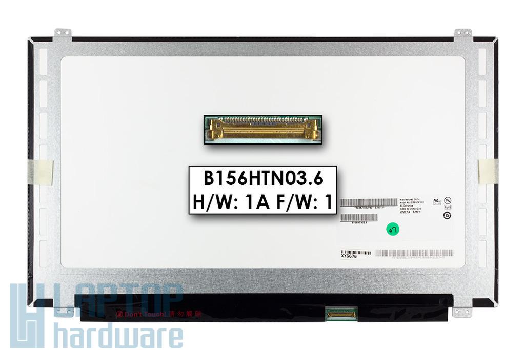 Gyári új matt 15.6'' Full HD (1920x1080) LED laptop eDP Slim kijelző (csatlakozó: 30 pin - jobb)