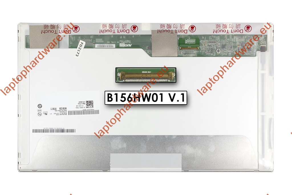 Dell Studio XPS 1640, 1645, 1647 full HD LED LCD kijelző, B156HW01 V.1, DPN 0K026T