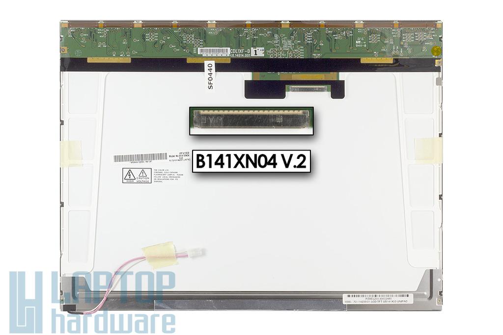 AUO UB141X03 14,1'' XGA gyári új laptop kijelző