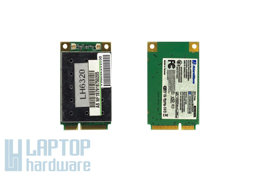 Azurewave AR5BXB61 használt Mini PCI-e laptop WiFi kártya