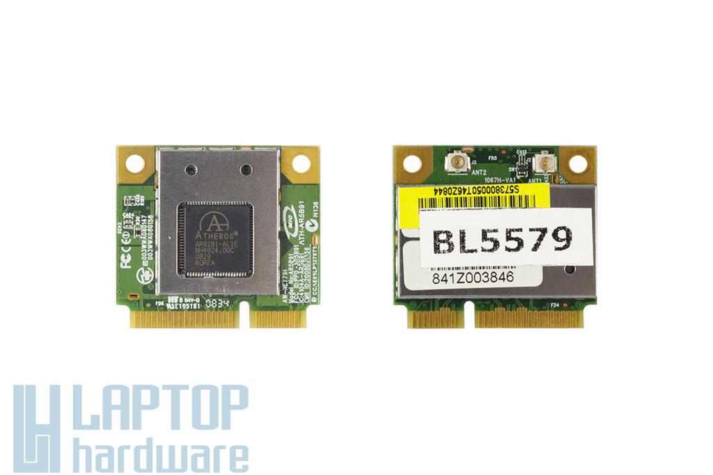 AzureWave AW-NE771 használt Mini PCI-e(half) WiFi kártya