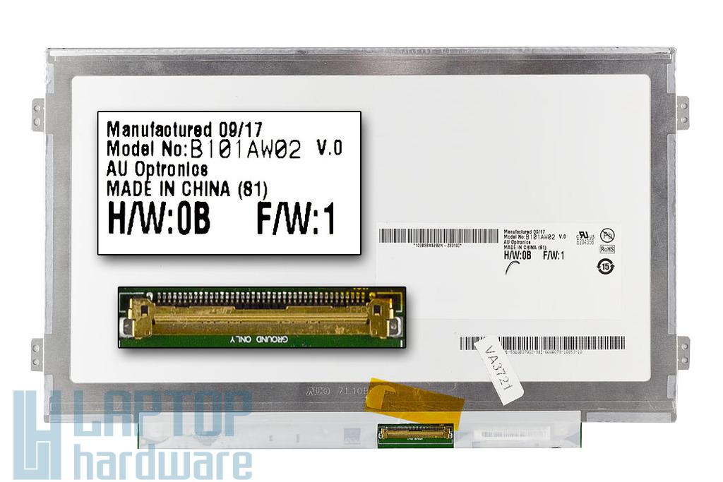 B101AW02 Slim LED használt laptop kijelző