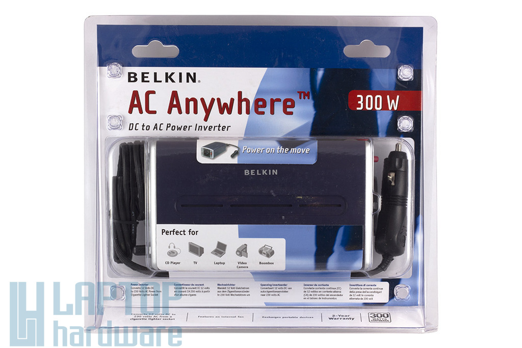 Belkin 300W autós inverter, F5C412eb300W