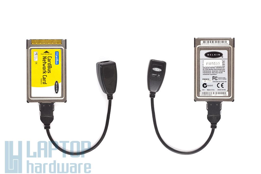 Belkin F5D5010 10/100 PCMCIA LAN kártya