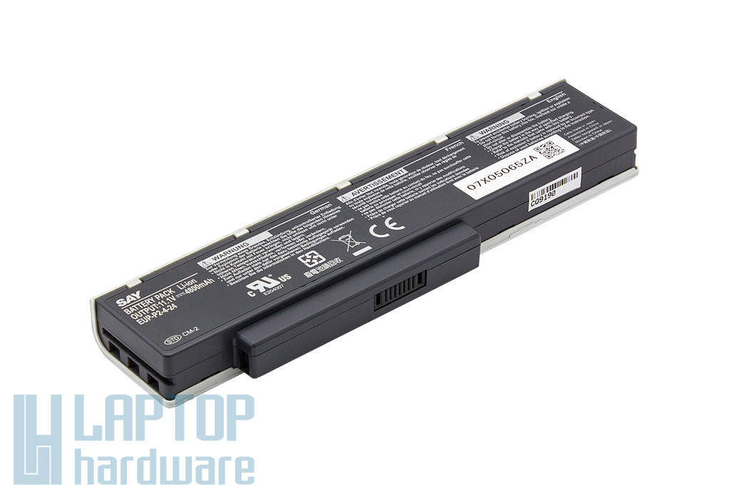 Benq JoyBook A52, C41, Packard Bell MH35 használt 6 cellás 80%-os helyettesítő laptop akku/akkumulátor (EUP-P2-4-24)