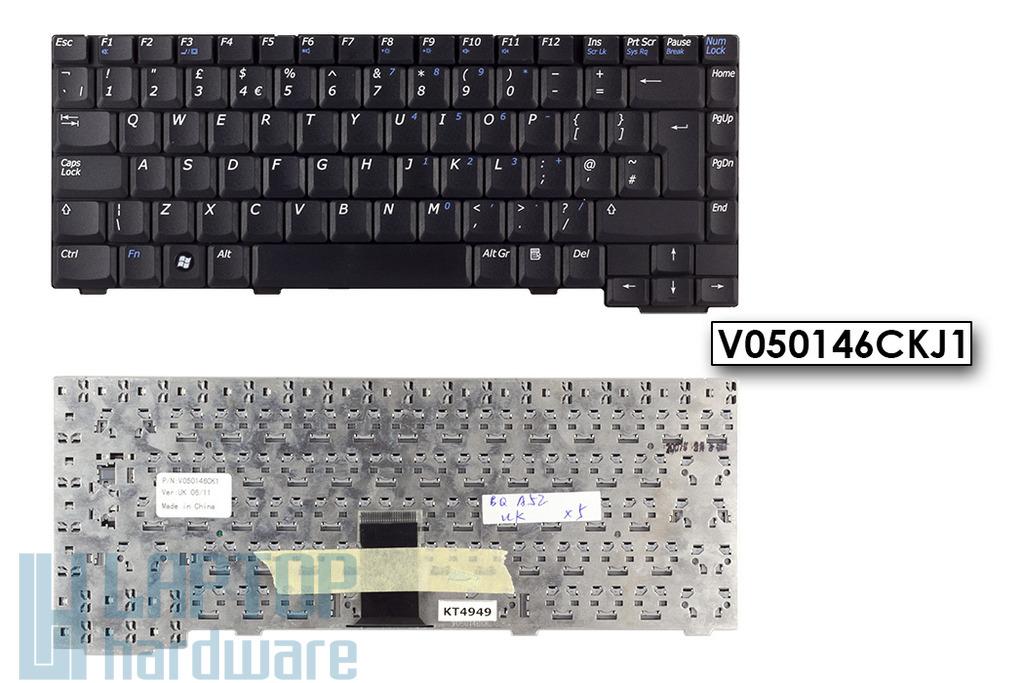 Benq Joybook A52 gyári új UK angol laptop billentyűzet, V050146CKJ1