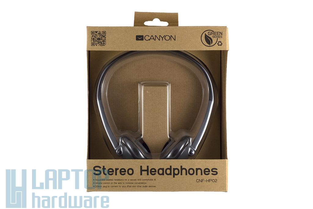 Canyon Stereo fejhallgató, CNF-HP02