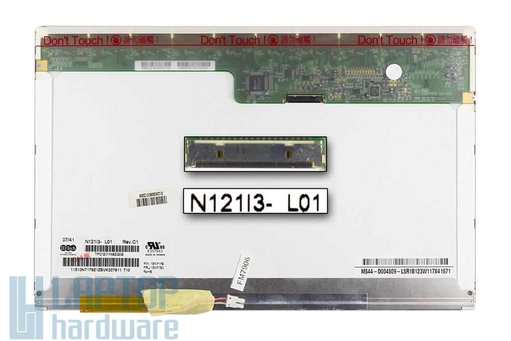 Chi Mei 12.1 inches (N121i3-L01) használt laptop kijelző