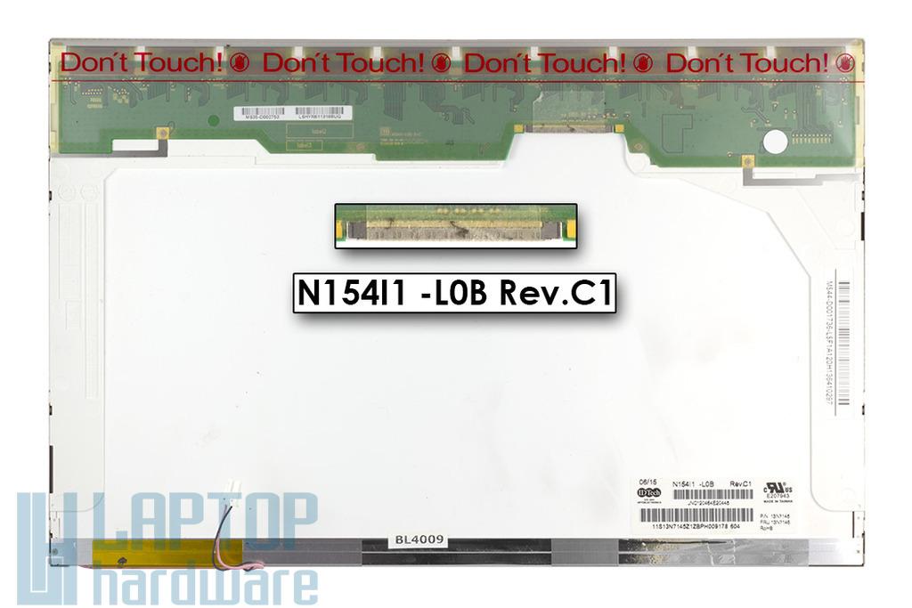 Chi-Mei 15.4 inches használt matt laptop kijelző (N154I1-L0B)