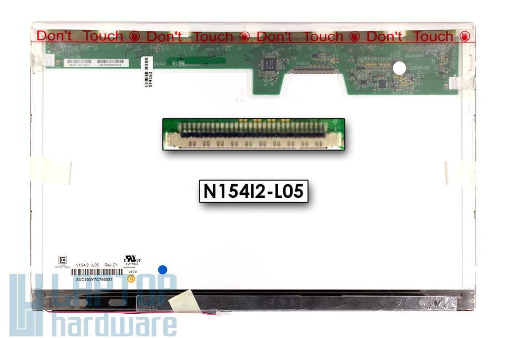 Chi-Mei N154I2-L05 15,4 inch WXGA CCFL használt matt laptop kijelző