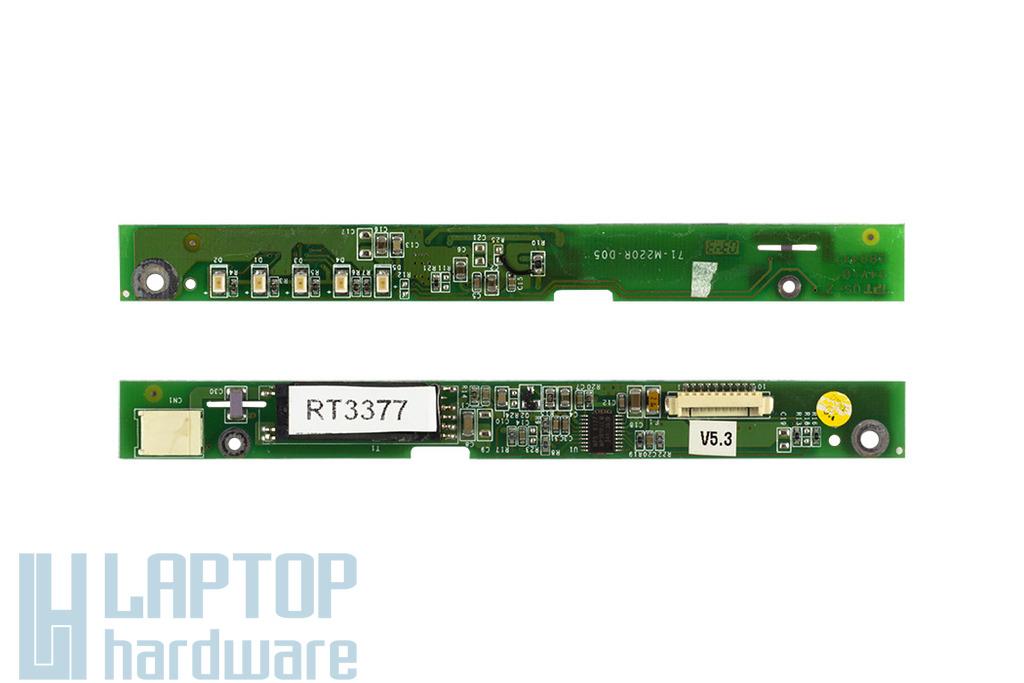 Clevo D27ES, Prestigo 220E laptophoz használt LCD inverter (71-M220R-D05)