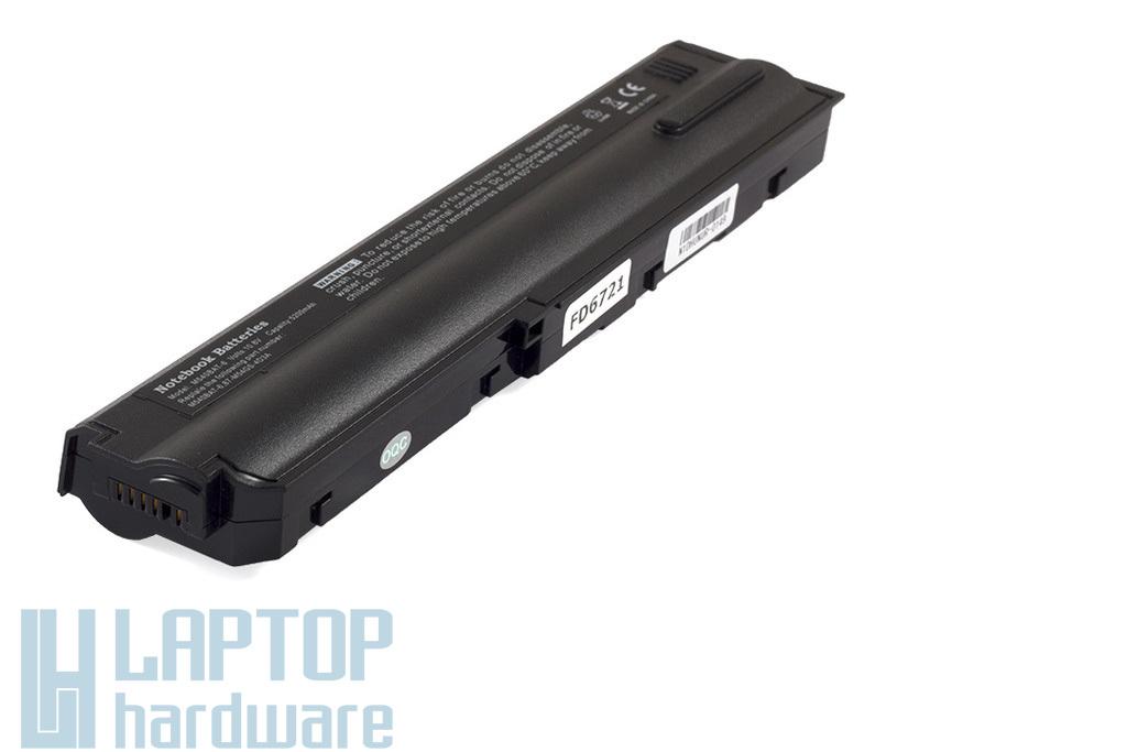 Clevo M54, M540, M55, M550 új helyettesítő akku/akkumulátor  M540BAT-6