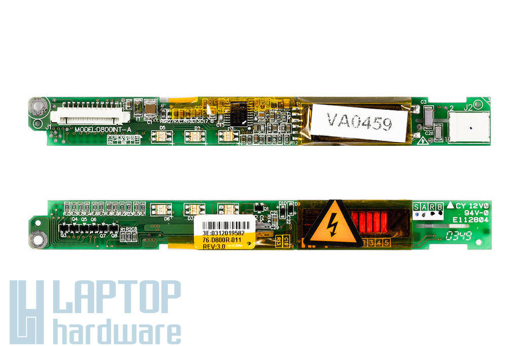 Clevo D87P,M57U,D470V,M470K laptophoz használt LCD Inverter(D800INT-B)