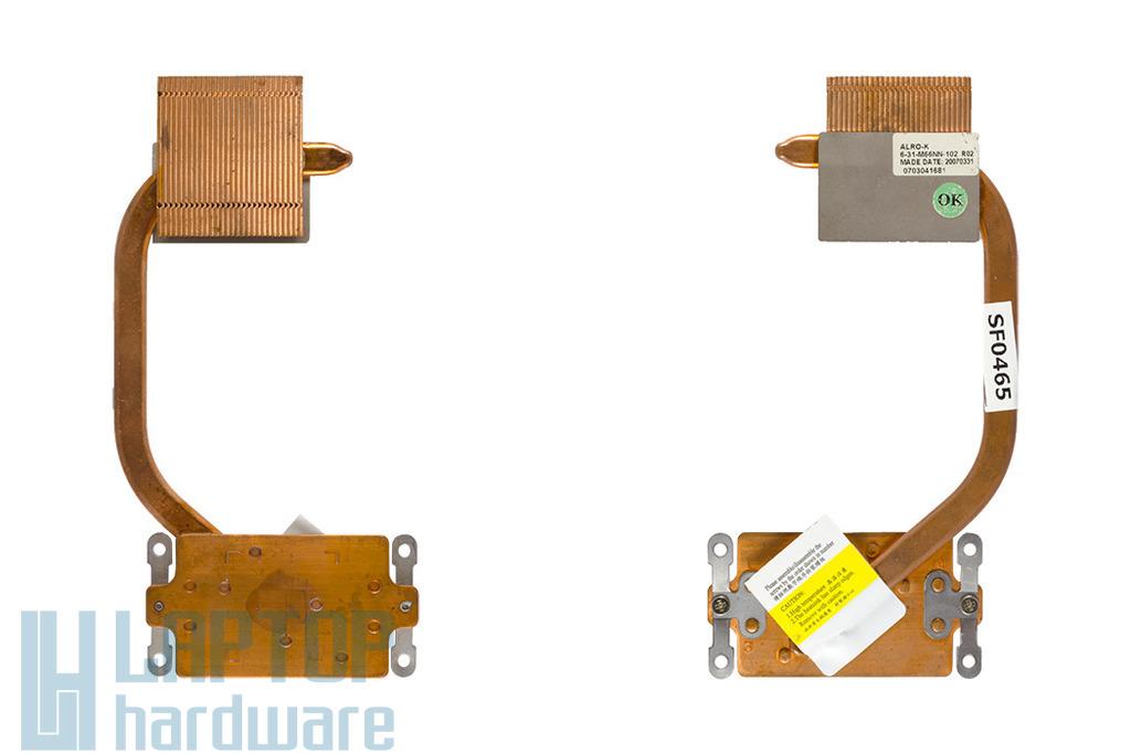 Clevo Stylenote M66SRU laptophoz használt hőelvezető cső (6-31-M66NN-102)
