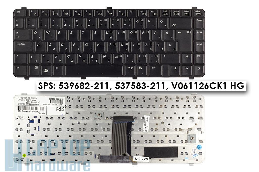 Compaq 510, 511, 515, 516, 610, 615 használt magyar laptop billentyűzet, SPS 537583-211