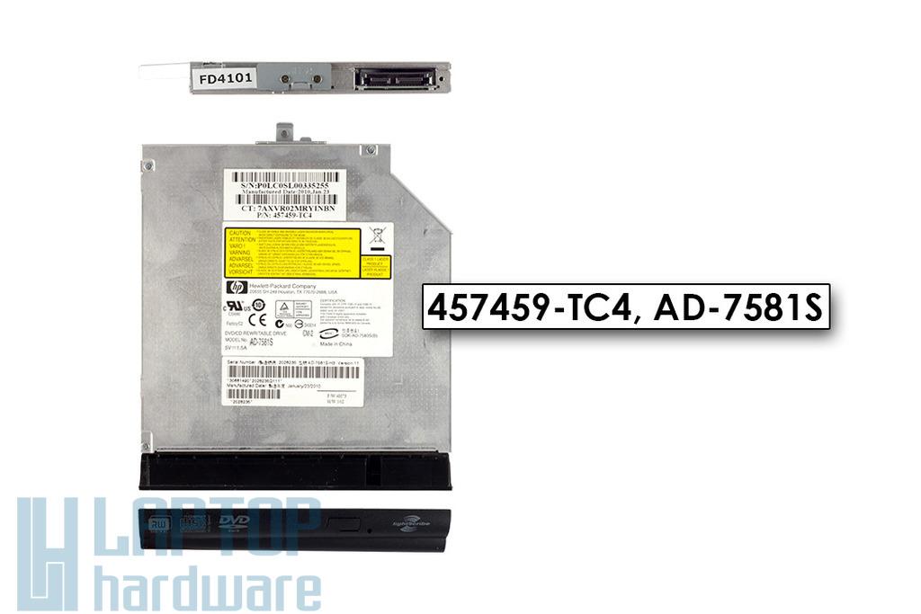 Compaq 615 használt notebook lightScribe SATA DVD Író, 457459-TC4, AD-7581S