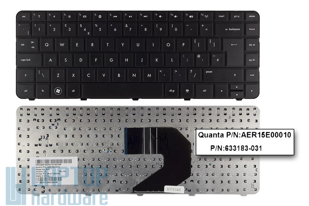 Compaq CQ43, CQ57, HP 430, 630, 635 gyári új UK angol laptop billentyűzet (SPS 643263-031)