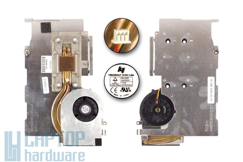 Compaq Evo n1015v használt laptop hűtő ventilátor 309646-001