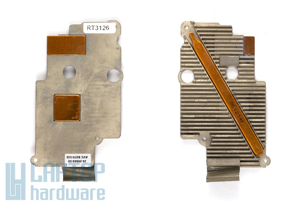 Compaq Evo N610C laptophoz használt hűtőborda, hőelvezető cső (S07013l)