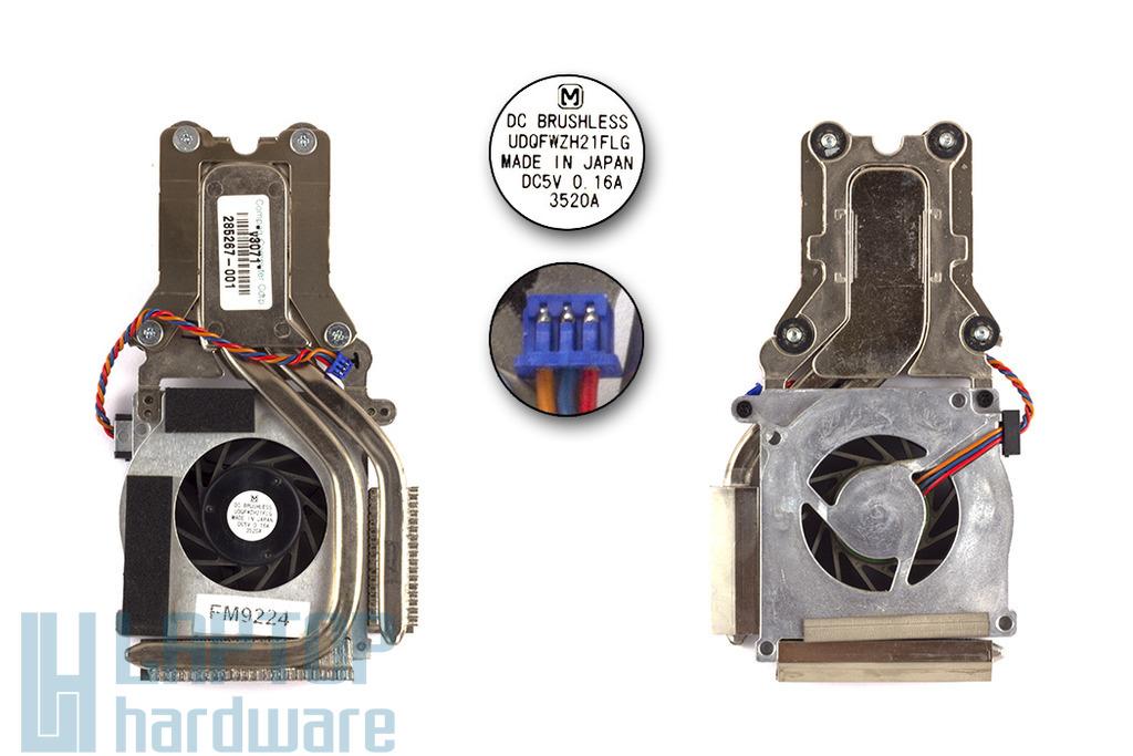 Compaq Evo N800c használt laptop hűtő ventilátor 285267-001