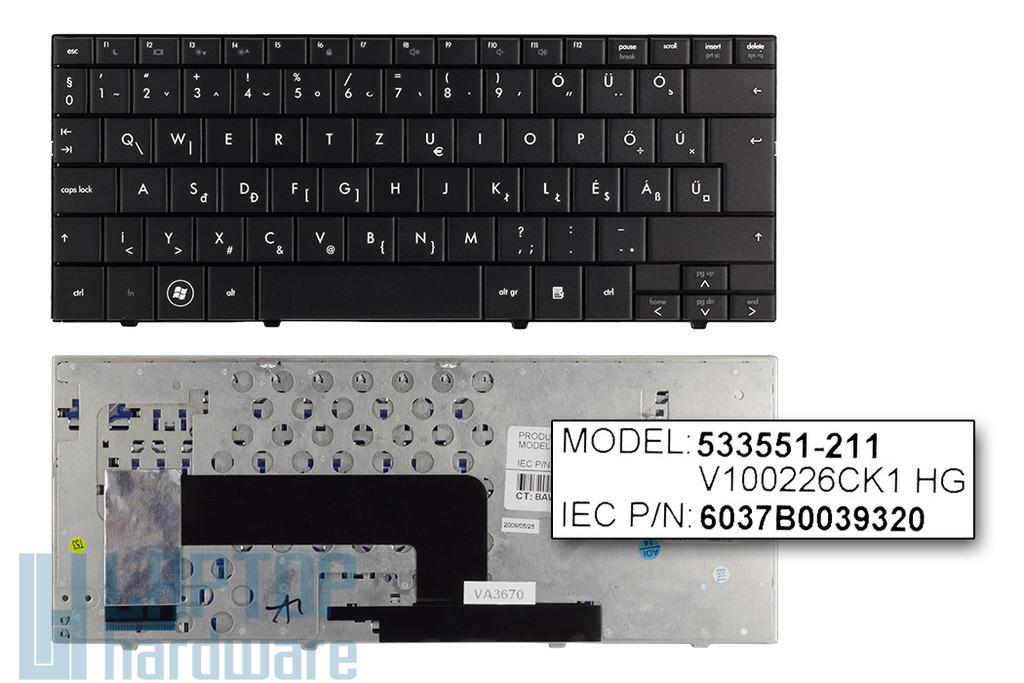 Compaq mini 110, 110c, HP Mini 110 gyári új magyar netbook billentyűzet (SPS 535689-211)