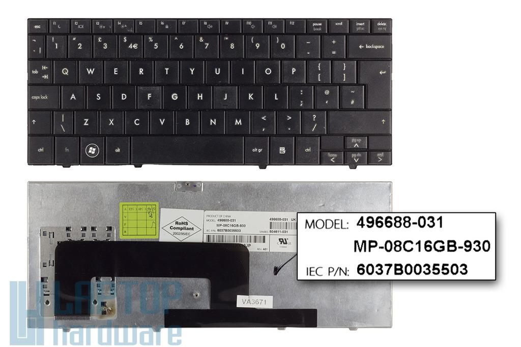 Compaq Mini 700EA, 1000, HP Mini 700, 1000 használt angol netbook billentyűzet (SPS 504611-031)