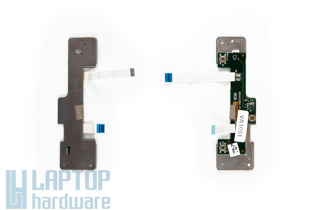 Compaq Mini 700EA, Mini 1000 laptophoz használt touchpad gomb panel (6050A2228001)