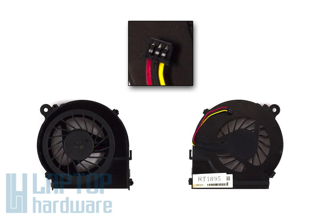 HP Pavilion G4-1000, G6-1000, G7-1000 gyári új laptop hűtő ventilátor (606609-001)