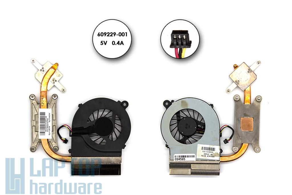 Compaq Presario CQ42, HP G42 használt komplett laptop hűtés (609229-001)
